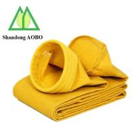 Buy cheap high temperature resistance P84 dust filter bag from wholesalers