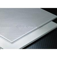Buy cheap Soundproof  and Fireproof Aluminum Lay In Ceiling Tiles for drop ceiling from wholesalers
