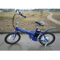 Buy cheap 20 * 1.95 Tyre collapsible electric bike , Samsung Lithium Battery foldable e bike from wholesalers
