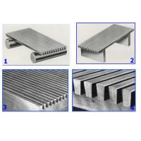 Buy cheap Stainless Steel 304 Wedge Wire Mesh Flat Welded Plate Smooth Surface Sugar Juice Filtration from wholesalers