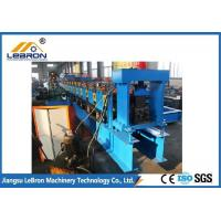 Buy cheap Automatic PLC Control Storage Rack Roll Forming Machine with Long Time Service Time from wholesalers
