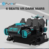 China Stable 9D VR Cinema Driving Car Game Machine 9D 6 Players Amusement Park Rides on sale