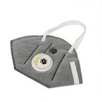 China Grey Color Valved Dust Mask Half Face Mask PM2.5 Air Purify Protective Mask on sale