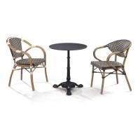 Buy cheap LJC040 Leisure chairs outdoor furniture dinning set arm chair and table from wholesalers