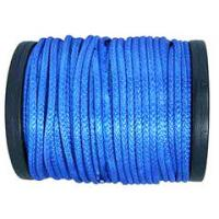 Buy cheap 8/12 Strand Plait Blue Color High Strength UHMWPE Rope Pulling Line For Vessel Trailer Parachute from wholesalers