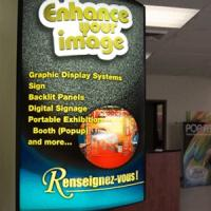 Buy cheap Duratran Light Box Poster Printing/backlit printing product