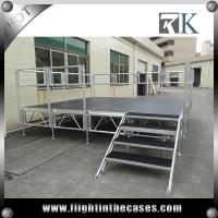 Buy cheap 2016 New Quality Standerd portable stage aluminum stage mobile stage for sale from wholesalers