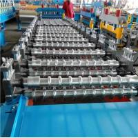 Buy cheap PLC System Roof Roll Forming Machine / Metal Roofing Forming Machine 7.5KW Hydraulic Power from wholesalers
