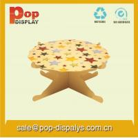 Buy cheap Offset Printing Cardboard Cupcake Display Stands For Cake Promotion from wholesalers