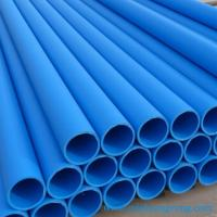 Buy cheap Blue High Density Polyethylene HDPE Pipe DN63mm for Drinking Water Supply Transition product