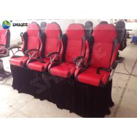 Buy cheap Exclusive 4D Motion Cinema Chair 4D Theater Seating For 4D Movie Theater product