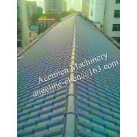 Buy cheap Plastic polyvinylchloride glazed roofing tile roof tile product