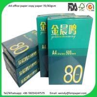 Buy cheap A4 Copier Paper Indonesia 80 gsm/75 gsm/70 gsm Copier Papers from wholesalers