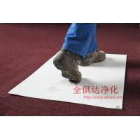 Buy cheap cleanroom disposable peelable PE sticky mat (blue,white,transparant) from wholesalers