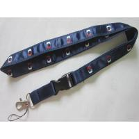 Buy cheap Exhibition Gifts Imprint Satin Ribbon Overlay Polyester Lanyard from wholesalers