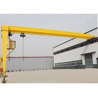 Buy cheap Industrial Single Girder Semi Gantry Crane Rail Mounted For Workshop from wholesalers