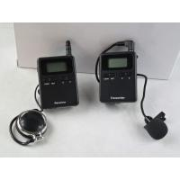 Buy cheap Stereo 008A Tour Guide Transmitter , Tour Guide Receiver For Travel Agencies from wholesalers