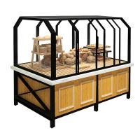 Buy cheap 3 Years Warranty Food Store Shelving Bakery Display Shelves For Cake from wholesalers
