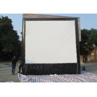Buy cheap Air Sealed Backyard Inflatable Movie Screen , Rear Projection Screen For Party from wholesalers