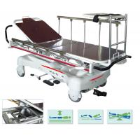 Buy cheap Steel Emergency Stretcher Trolley Electric Hospital Transport Bed Rise Fall from wholesalers