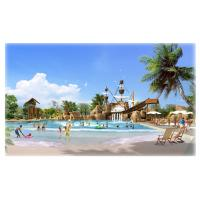 Buy cheap Commercial Swimming Water Theme Park Surf Wave Pool for Kids Park Play Equipment from wholesalers