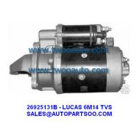 Buy cheap International Harvester & Mahindra Tractor TVS Starter LUCAS 6m14 1233544R91 26024036A from wholesalers