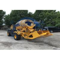 Buy cheap Diesel Engine Self Loading Concrete Mixer Machine For Construction Industry from wholesalers