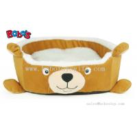 Buy cheap New Design Plush Cartoon Bear Shape Puppy Dog Cat Bed Pet Bed from wholesalers
