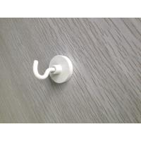 Buy cheap Zn Coated Custom Neodymium Magnets With Suction Hook Bright Blue Shining Color from wholesalers