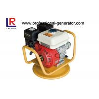 Buy cheap 5.5HP Gasoline / Petrol Vibratory Plate Compactor With Vibrator Hose Shaft product