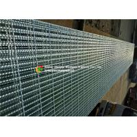 Buy cheap Hot Dipped Galvanized Serrated Steel Grating For Stair Tread / Ditch Cover product