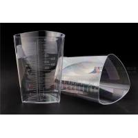 Buy cheap 1000cc FDA Registered Iso 13485 Triangular Container Transparent Three Sided Material from wholesalers