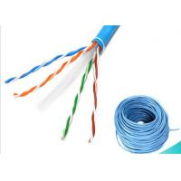 Buy cheap Cat6 UTP Cable / 4 Pair UTP Cable High Performance 305m HDPE Insulation from wholesalers