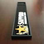 Buy cheap 3D Anti Slip Sapporo Bar Runner Mats With Star Logo , Non Slip Matting from wholesalers