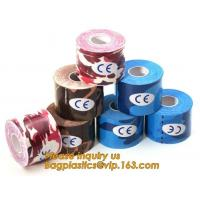 Buy cheap Kinesiology tape,OEM for Famous Brand Printed Kinetic Tape Kinesiology Tape Sports Tape,medical waterproof cotton elasti from wholesalers
