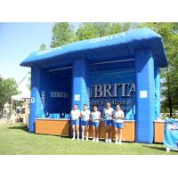 Quality Blue Brita Inflatable Booth For Display , Advertising Inflatables Display Booth for sale