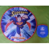 Buy cheap Big size with pocket promotional custom Frisbee from wholesalers