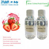 Buy cheap Hot sale high quality high concentrate VG based Strawberry flavor liquid for vape product