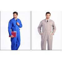 Buy cheap Anti - Static Flame Retardant Insulated Coveralls Oil Resistant For Gas Station from wholesalers