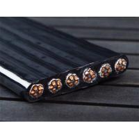 Buy cheap Screened Copper Conductor Flat Electrical Cable , Flat Crane Cable PVC Insulation product