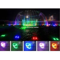 Buy cheap Automatic Control 9 Watt Led Underwater Lights / Ip68 Led Fountain Light from wholesalers