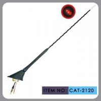 Buy cheap Auto Car Roof Antenna , Car Electric Aerial Led Light 41cm Mast Length from wholesalers