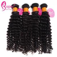 China Mongolian Real Hair Weave Extensions 10A 11A Grade No Chemical Full Cuticle on sale