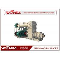 Buy cheap Reamer Soild Clay Brick Making Machine , Clay Brick Extruder MachineLarge Output from wholesalers