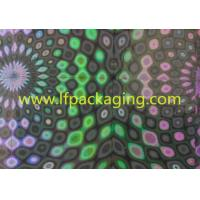 Buy cheap High glossy pet metallized holographic film for lamination and packing from wholesalers