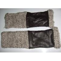 Buy cheap Fashion Leather&Knitting Gloves (CF5260) from wholesalers