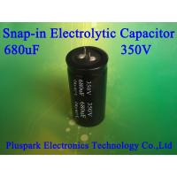 Buy cheap 350V 680uF Aluminum Electrolytic Capacitor SNAP IN +/-20% M from wholesalers