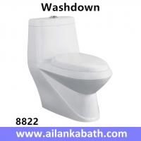 Buy cheap Middle East Bathroom Sanitary Ware Ceramic S-trap250 Roughing-in Washdown One-piece Toilet from wholesalers