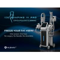Buy cheap 2017 super september product 4 handles multifunction newest fat freezing body slimming cryolipolysis cryotherapy machine from wholesalers