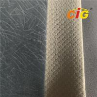 Buy cheap High quality polyester velour car upholstery fabric/Auto headliner cloth from wholesalers